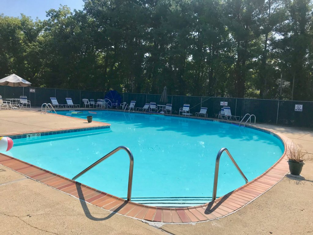 Swimming Pool at The Mews in West Long Branch